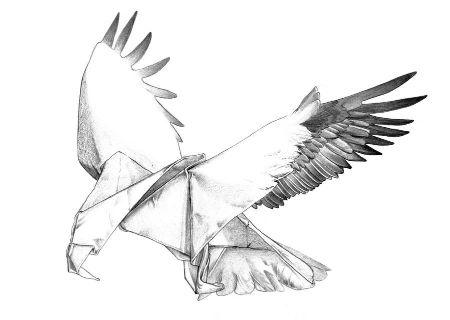 tattoo paper eagle by modnight on deviantart