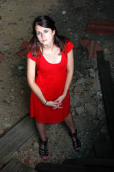 Red dress by izmy