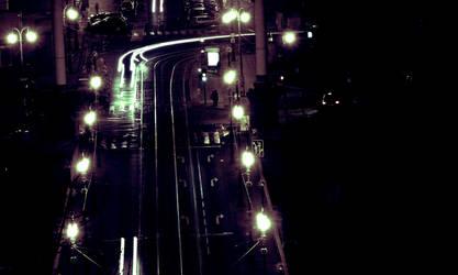 Night road by izmy