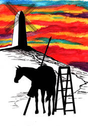 Jousting Windmills by OldBay