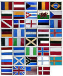Stained Glass Flags