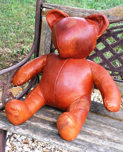 Leather Teddy by theancientofdays