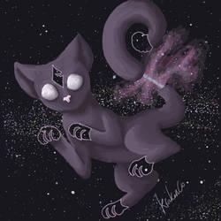 Cosmic cat by Krakenco