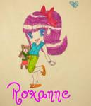 Roxanne-Chibi Girl by Glopesfire