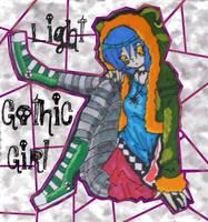 Light Gothic Girl by Glopesfire