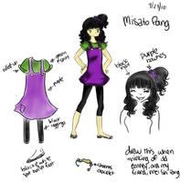 OC:Misato Pang by Glopesfire
