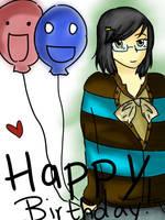 Happy Birthday Yayachii by Glopesfire