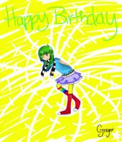 Happy Birthday Harmless by Glopesfire