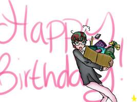 Happy Birthday MaidoRome by Glopesfire