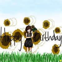 Happy Birthday Hakoinu by Glopesfire