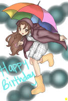 Happy Birthday Lubrian by Glopesfire
