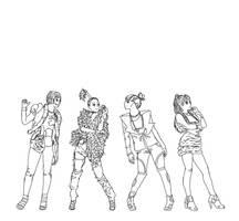 2NE1 by Glopesfire