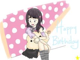 Happy Birthday Inma by Glopesfire