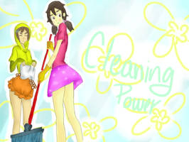 Cleaning power by Glopesfire