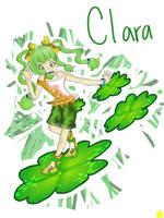OC: Clara by Glopesfire