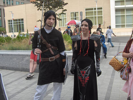 AZ 09 - Dark Link and Zelda