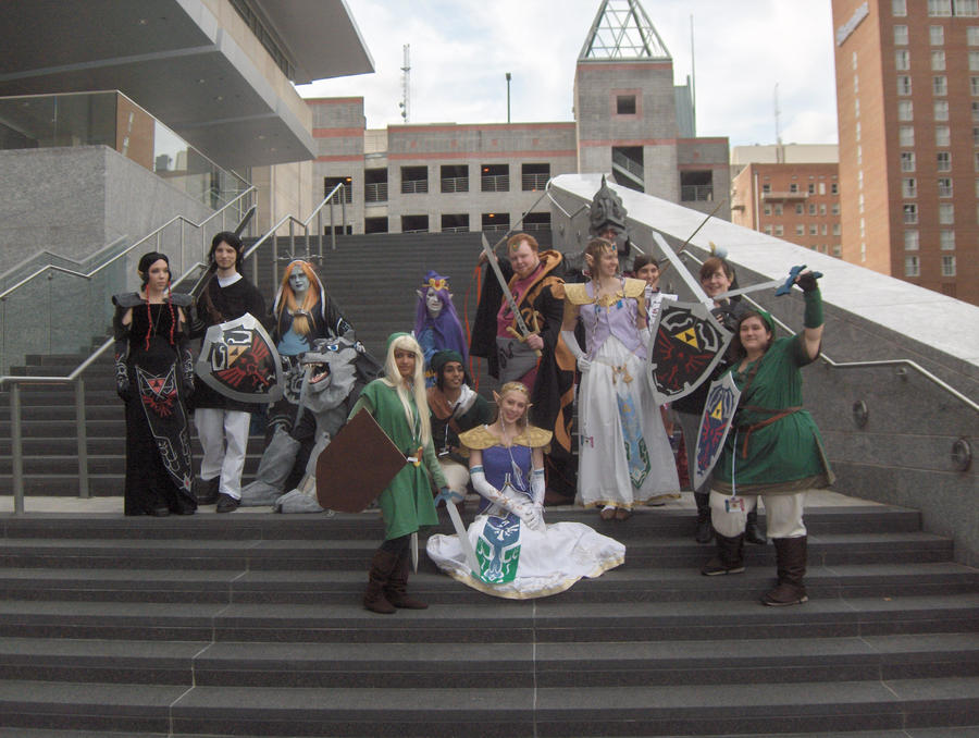 AZ 09 - Zelda Group Shot