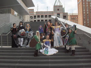 AZ 09 - Zelda Group Shot