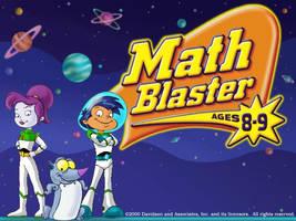 Math Blaster to Space Ranger