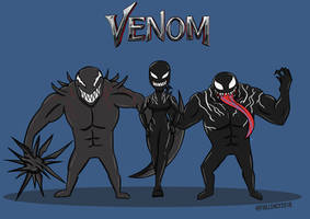 Venom - symbiotes by Fiqllency