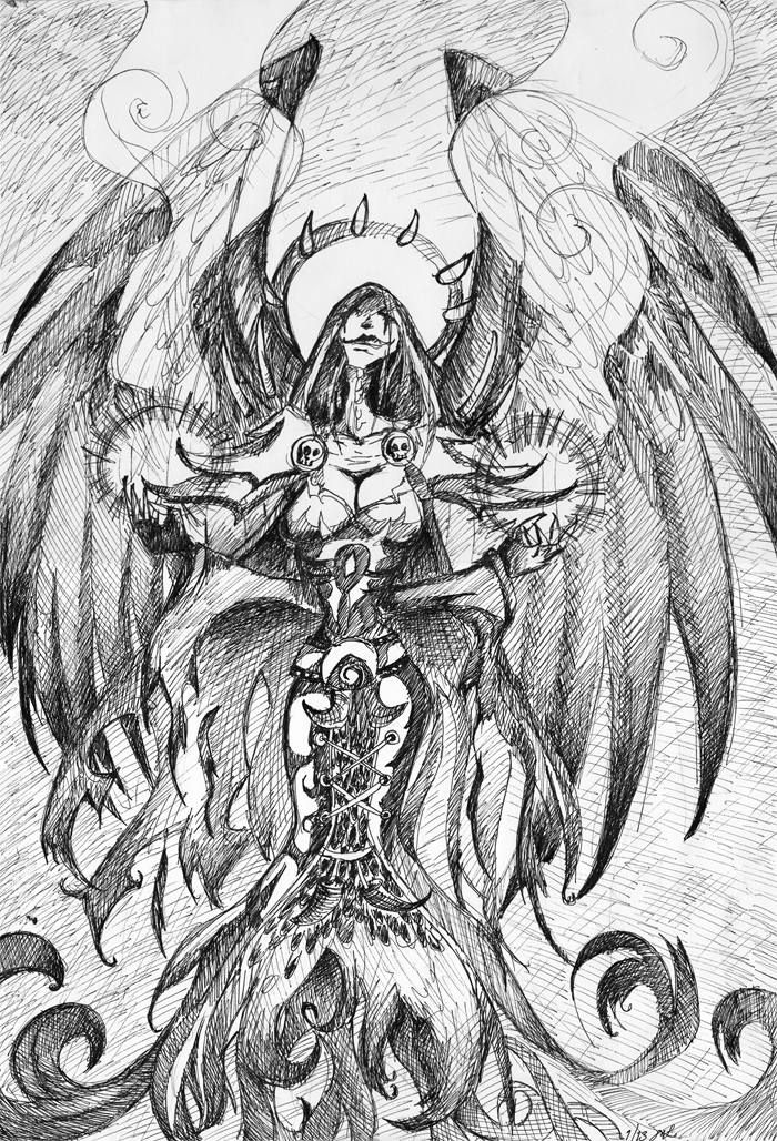 Undead shadow priest by Ventovir on DeviantArt