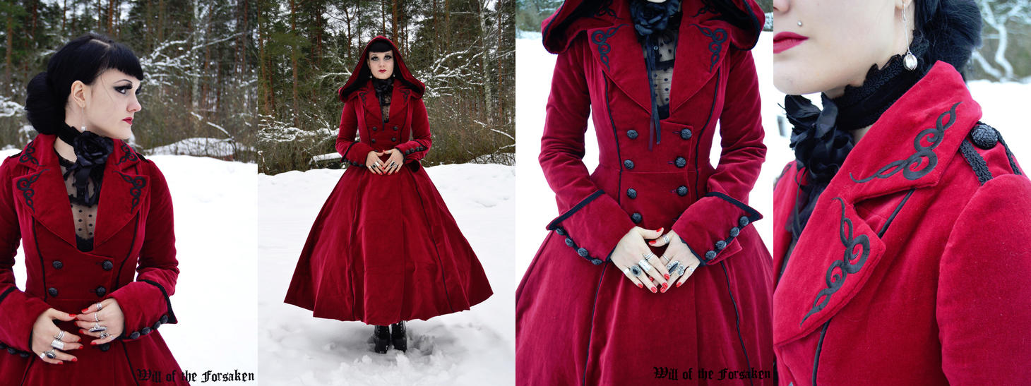 Red Riding Hood Long Coat by Ventovir on DeviantArt