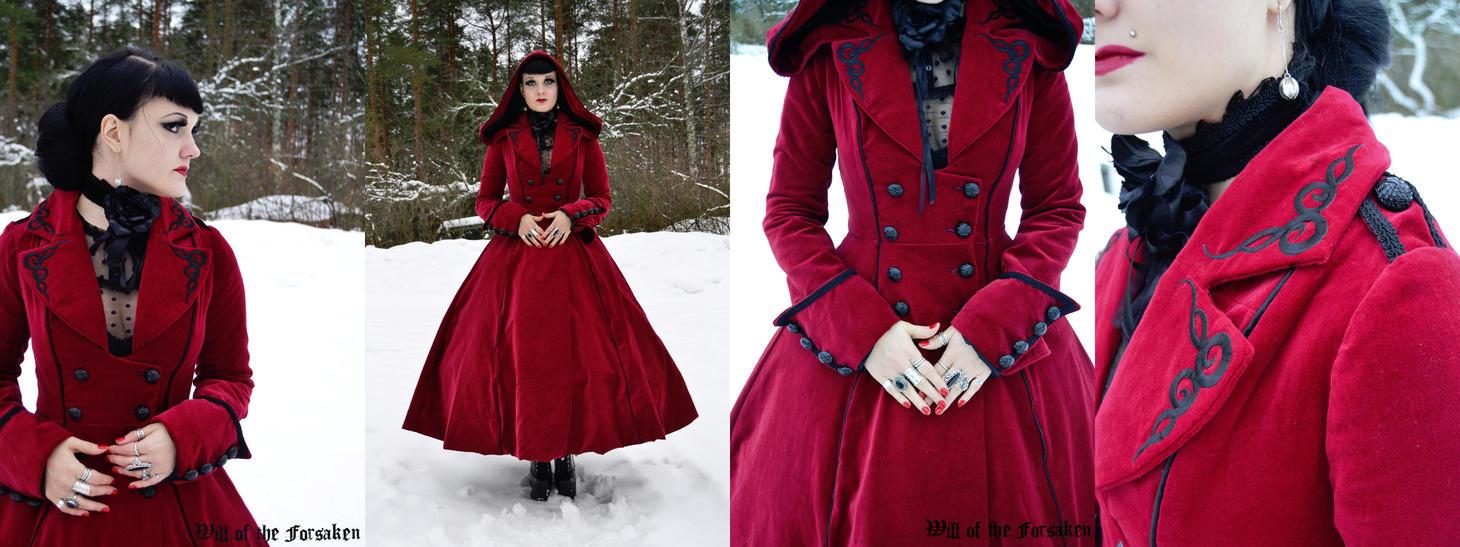 Red Riding Hood Long Coat by Ventovir on DeviantArt