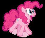 Pinkie Pie Jumping Vector