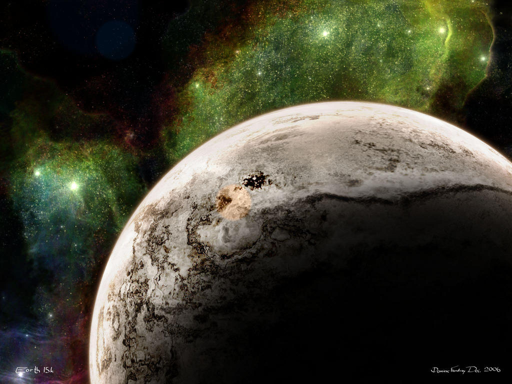 Earth 15k wallpaper closeup by LoN-Kamikaze