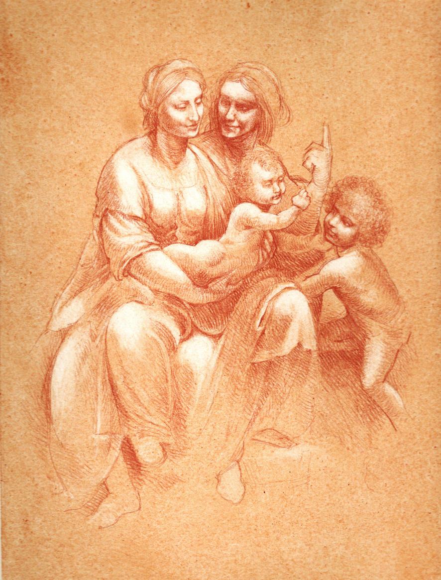 Leonardo da vinci cartone prep by baseluna on deviantart
