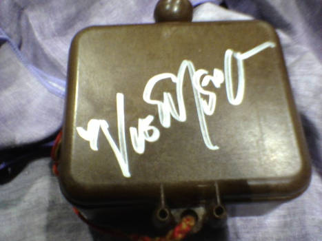Vic Signed it