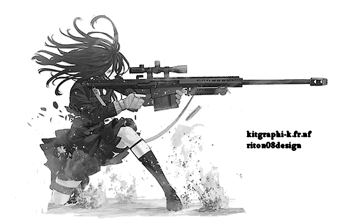 Render femme manga armee by riton08design on deviantart - Femme chat manga ...