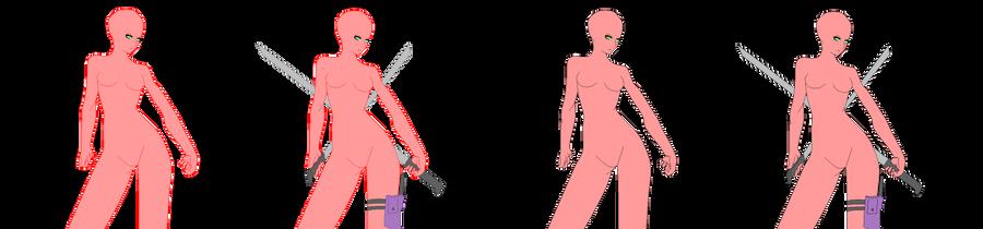 Double sword Base by Angel-Pixel15 on DeviantArt