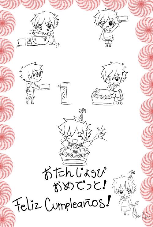 Happy Birthday Mina by Les--Chan