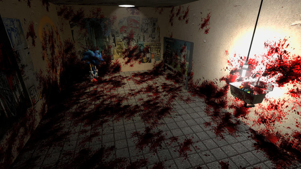 Sonic EXEs Room  Garry s Mod  by MillieTailskoPrower. Sonic EXEs Room  Garry s Mod  by MillieTailskoPrower on DeviantArt