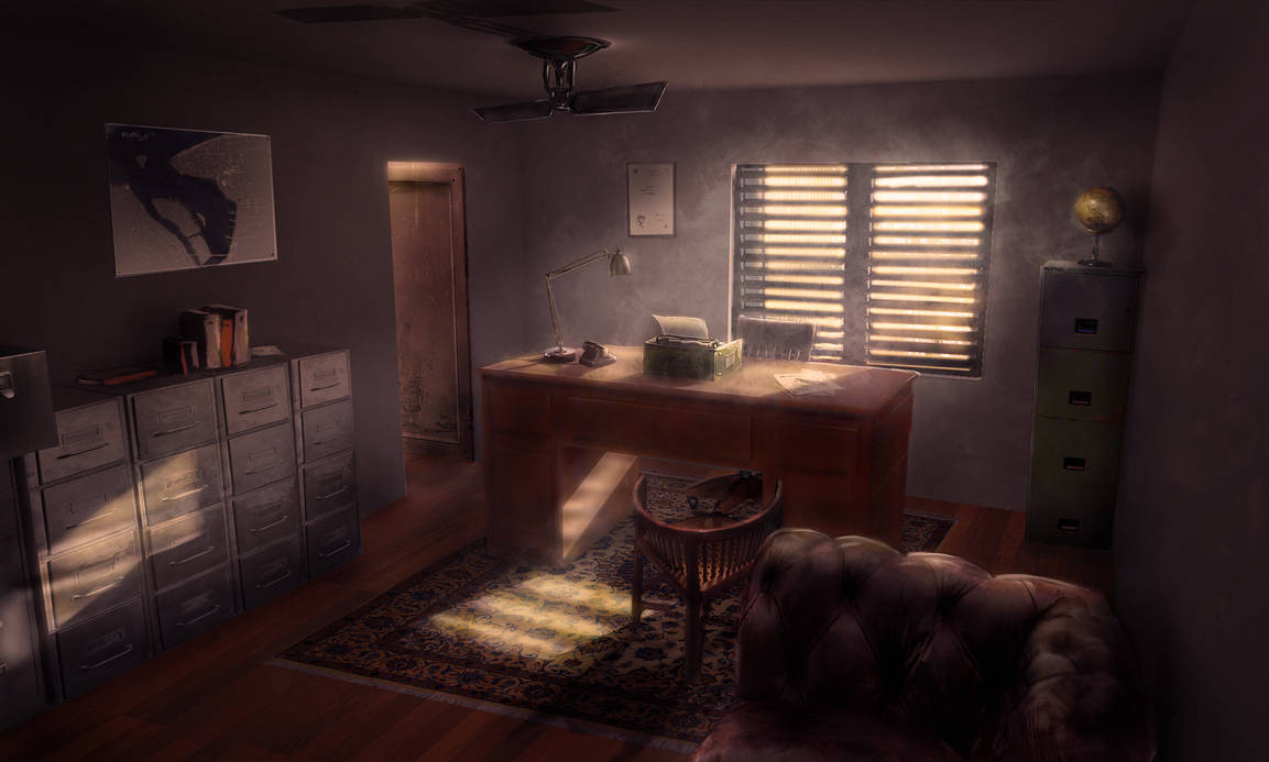 Detective office by Silberius on DeviantArt