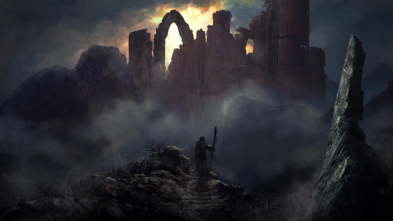 Ruined City by Silberius on DeviantArt