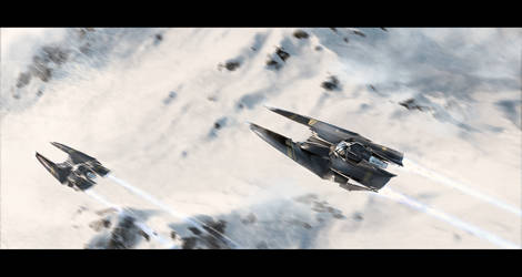 Mountain flyby