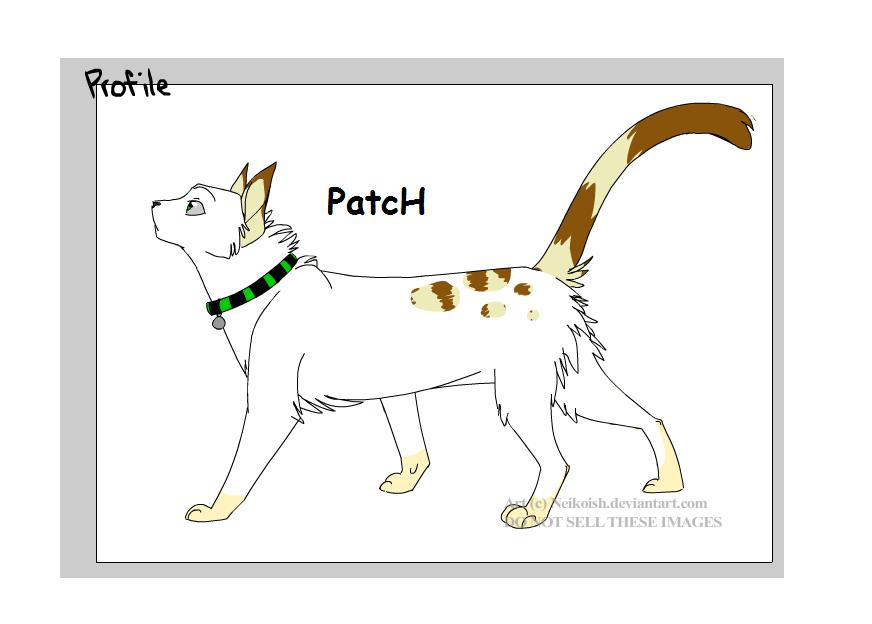 a new boy version of patch by patch-kitty-artist