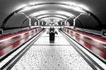 Black and White - Subway