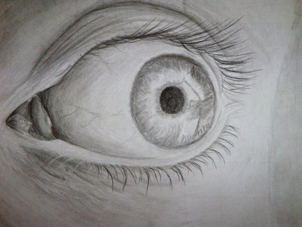 Eye drawing by Green-Romance