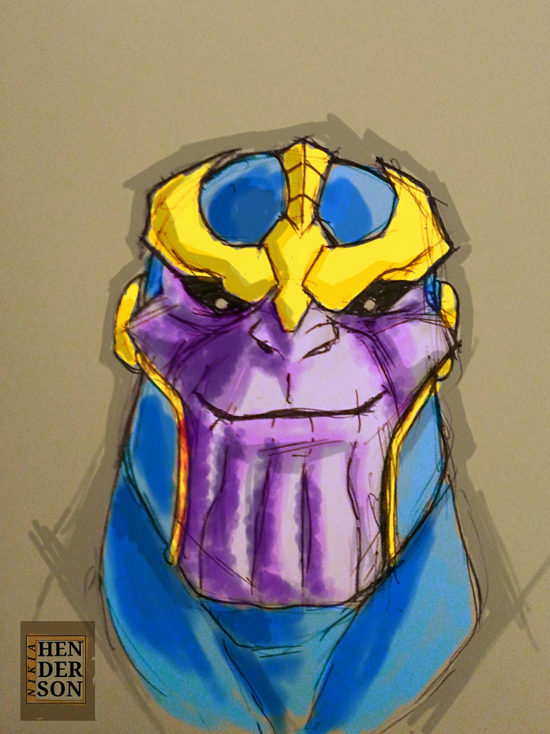 The Mad Titan... by chronogrifter