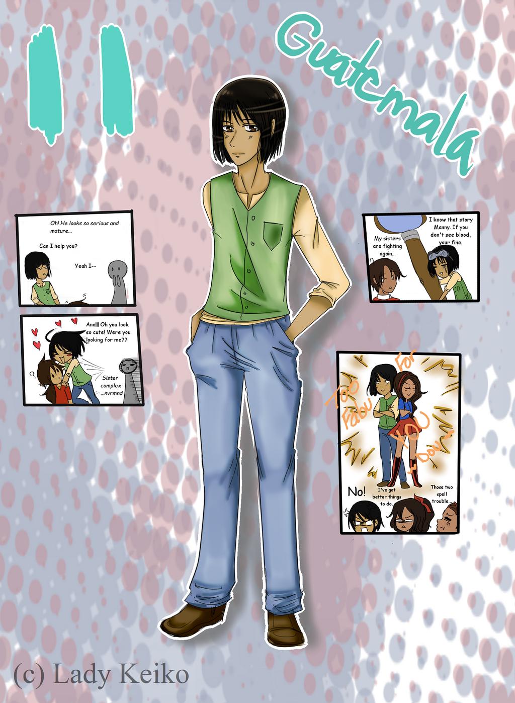 Elementary AU Entry: Iztali Samuel by LKeiko