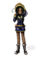 Pixel Person: Qila by LKeiko