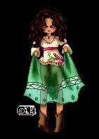 Pixel Person: Raquel by LKeiko