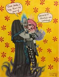 Hades and Karissa: Father's Day by GabiSaKuRa
