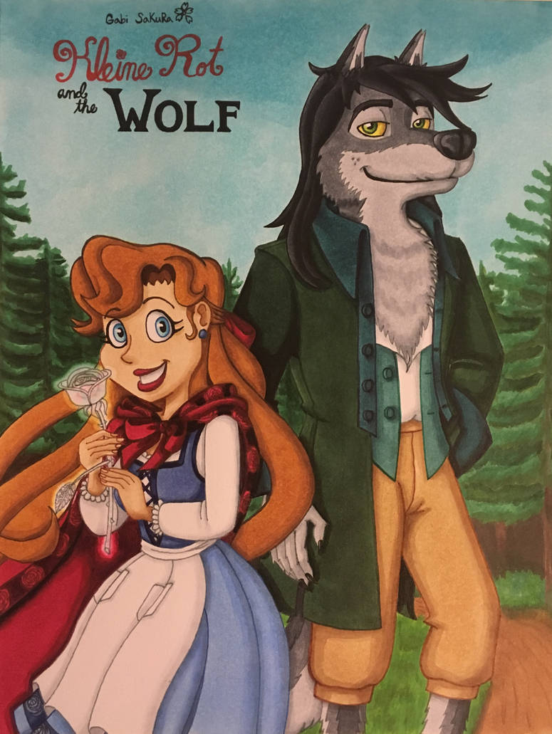 Kleine Rot and the Wolf: New Cover