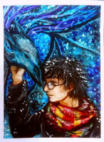 ACEO-Harry and thestral