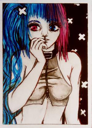 ACEO-Heterochromia by atorife
