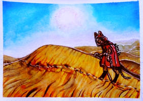 ACEO-Desert by atorife